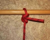 Buntline hitch step by step how to tie instructions