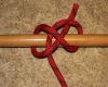 Constrictor knot step by step how to tie instructions