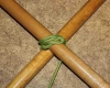 Diagonal lashing step by step how to tie instructions