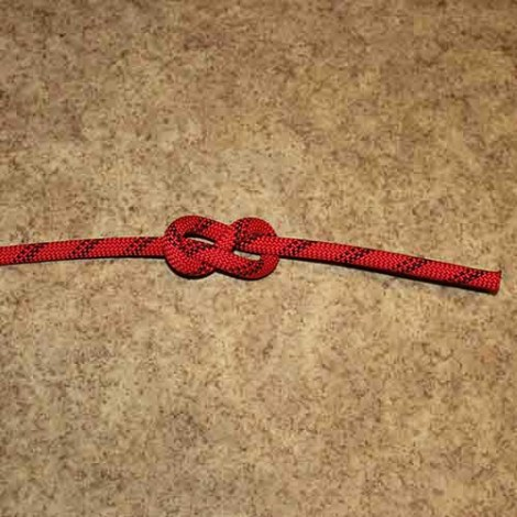 Figure 8 step by step how to tie instructions
