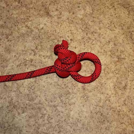 Honda knot (Lariat) step by step how to tie instructions