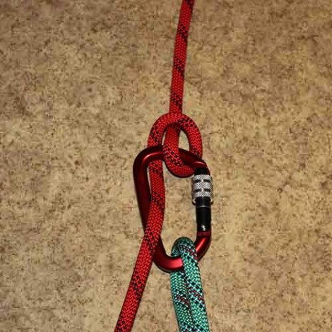 Munter hitch step by step how to tie instructions