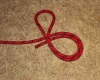 Overhand loop step by step how to tie instructions