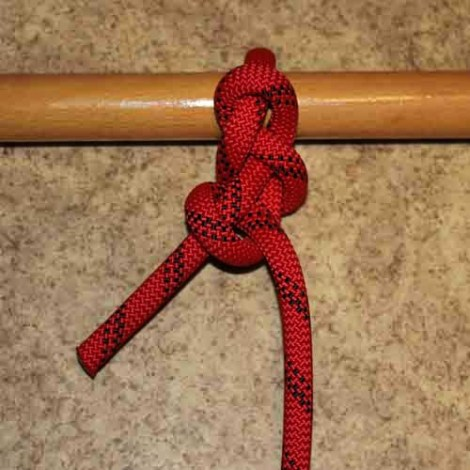 Packer's knot step by step how to tie instructions