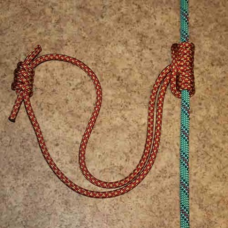 Prusik step by step how to tie instructions