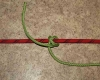Rolling hitch step by step how to tie instructions