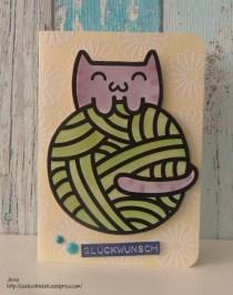 Pink_Samurai_Cat_Card_Svenja_Stempelküche