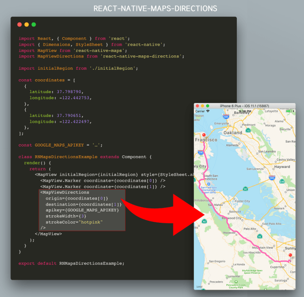 GitHub   bramus react native maps directions  Directions Component     react native maps directions