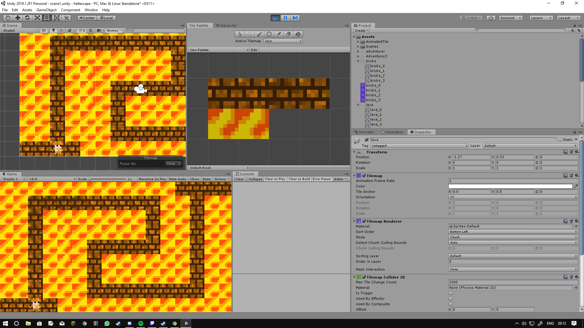 animated tiles