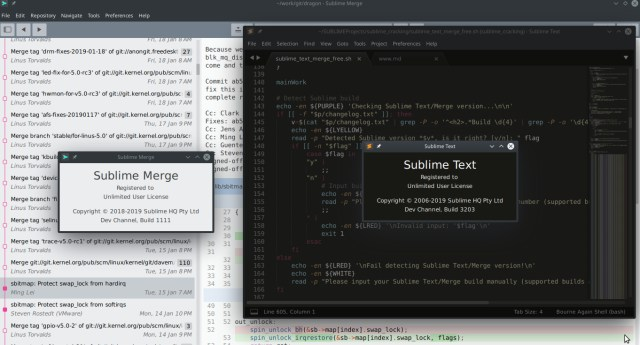 Cracking guide for Sublime Text 3 Build 3203/3200 and Sublime Merge - Build 1111/1109 (Linux x86_64) - Updated #4 (20190401) · GitHub