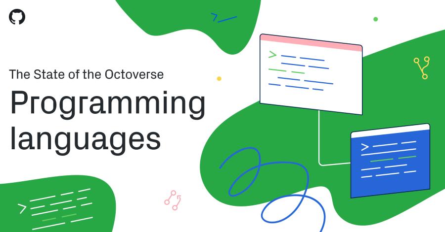 Top programming languages on GitHub