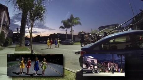 Опубликовано видео со съемочной площадки фильма «Ла-Ла Ленд»