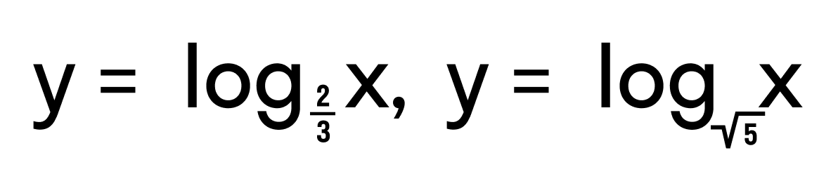 пример логарифмической функции