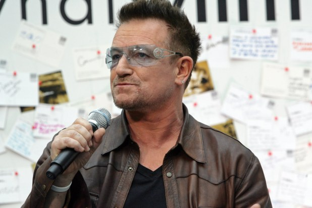 bono - second of the richest singers in the world