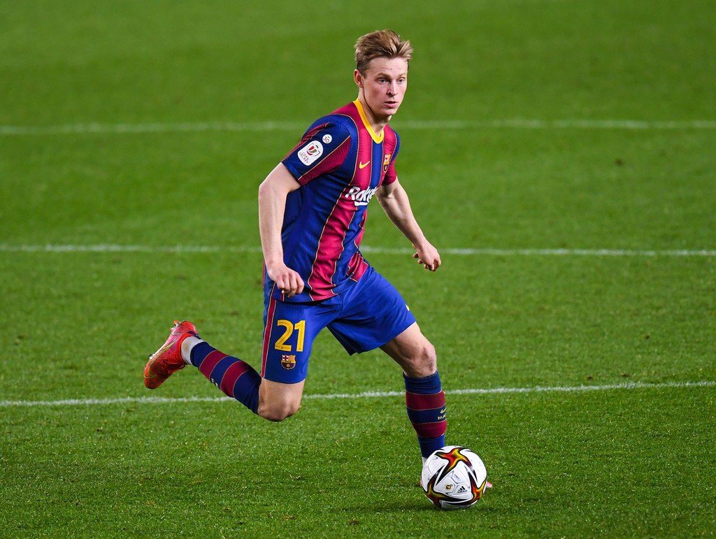 """Frenkie de Jong: """"I hope to continue being part of the club for many years"""""""