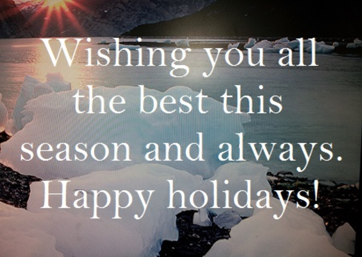 Season Greetings Wishes For Business Happy Holiday