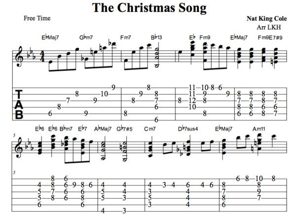 christmas lights chords # 19
