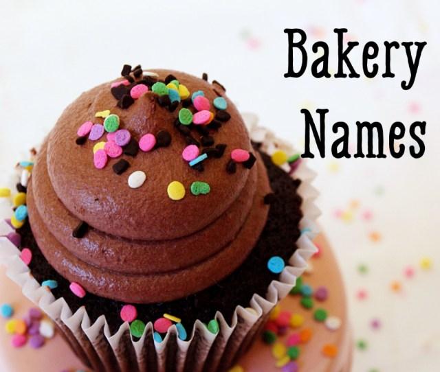 Cute And Creative Bakery Names