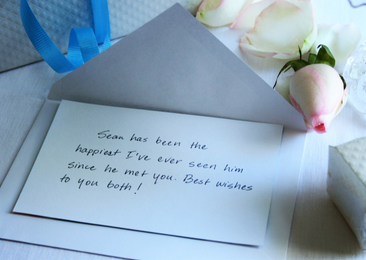 What To Write On A Wedding Shower Card