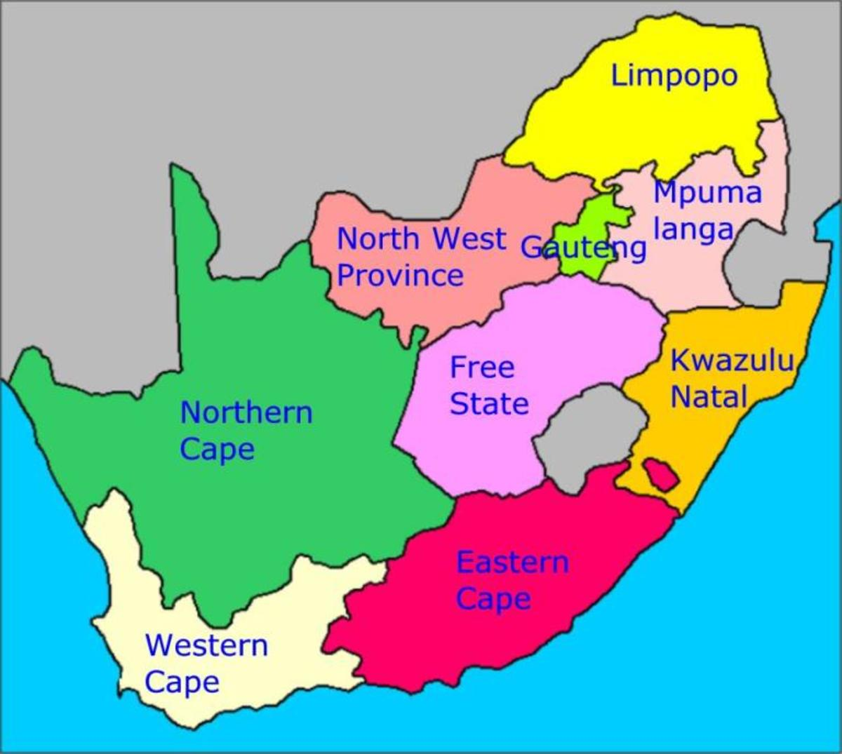 History Of South Africa In Only Words