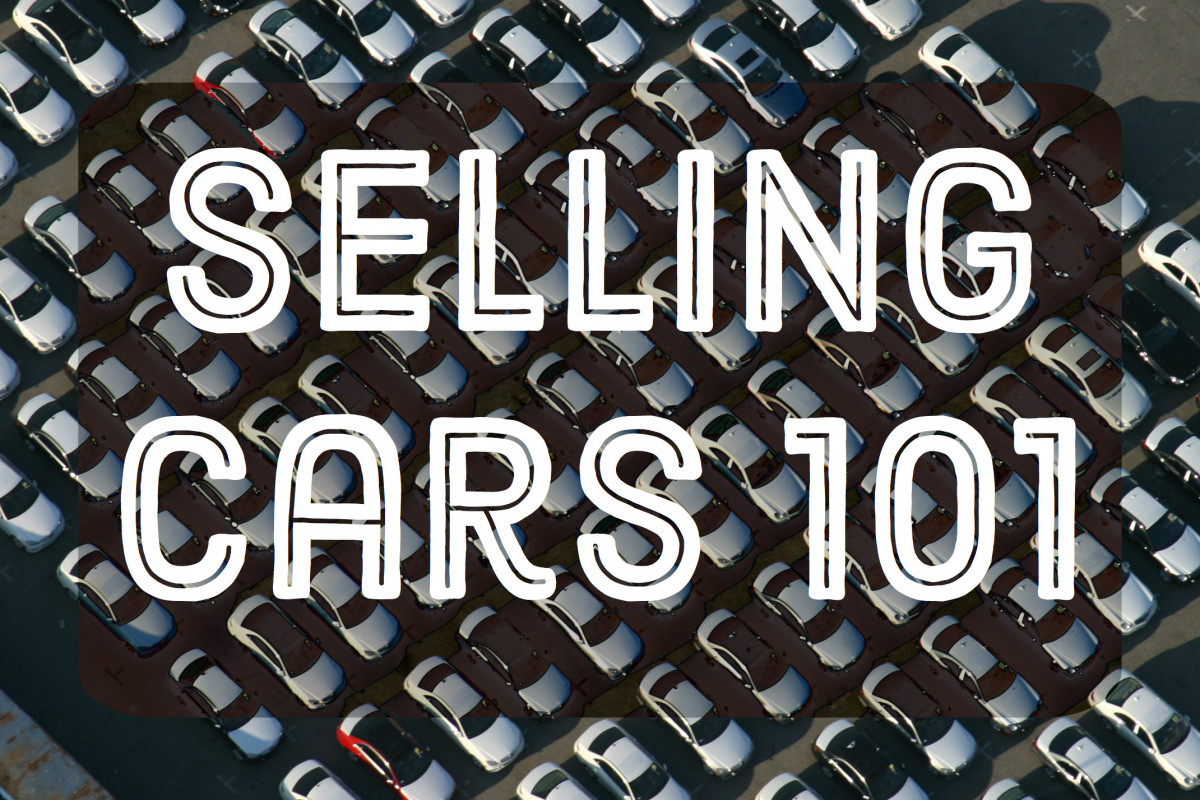 How To Use Four Square Worksheets To Sell Cars With