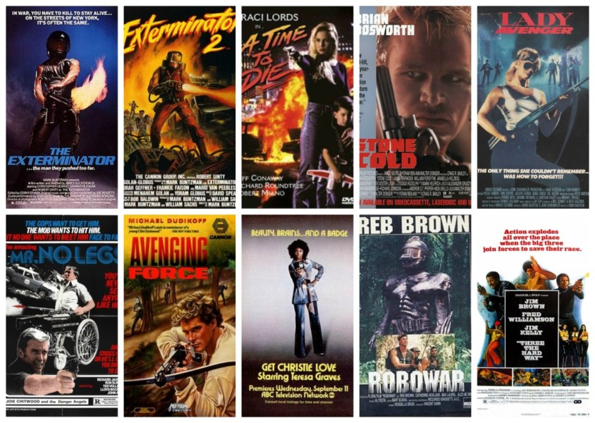 Ten Forgotten Action Movies You Can Watch on YouTube   ReelRundown Exterminators and Robots and Avengers  oh my