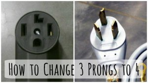 Changing a 3Prong Dryer Plug and Cord to a to 4Prong Cord | Dengarden