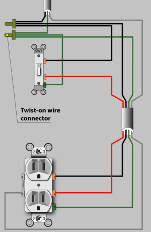 An Electrician Explains How to Wire a Switched (HalfHot