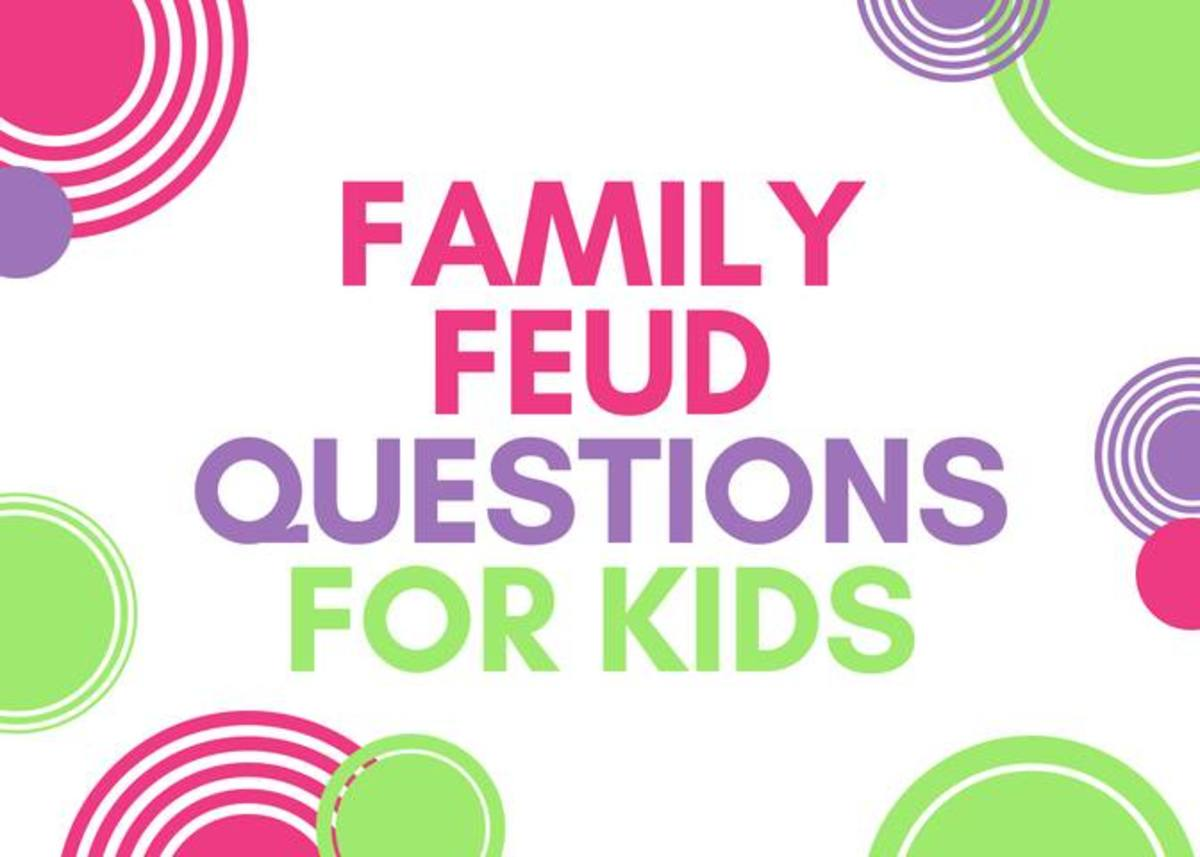Family Feud Questions For Kids