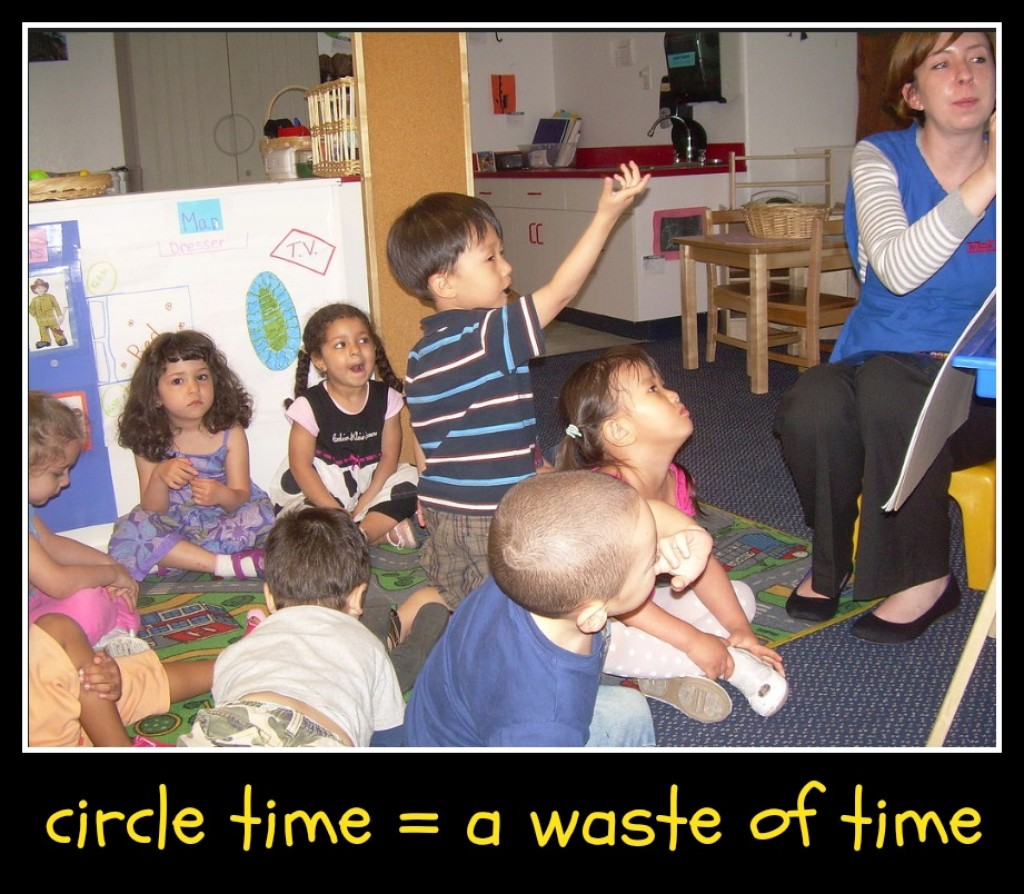 Why Circle Time At Preschool Gets Overused When Small