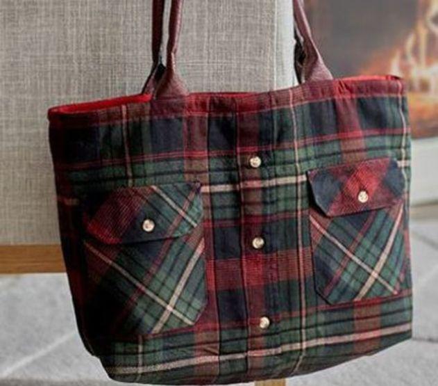 Kerajinan Tote Bag Dari Kain Flanel