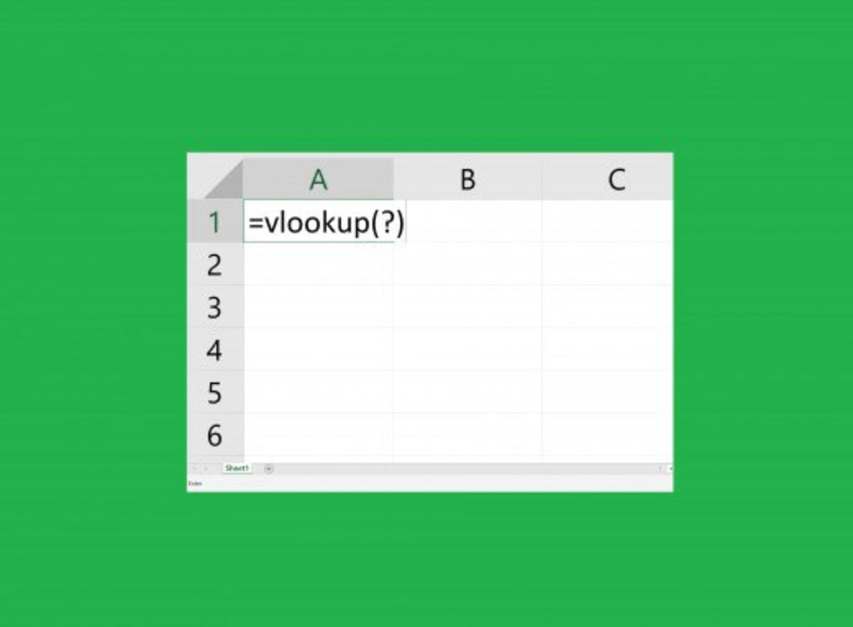 How To Use The Vlookup Function In Ms Excel