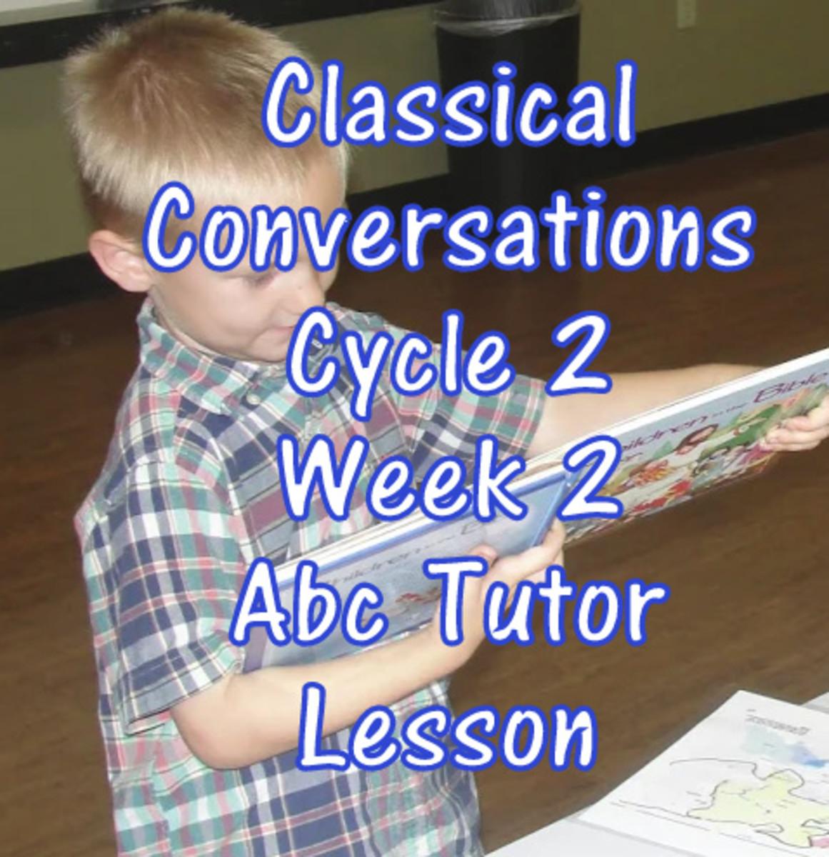 Cc Cycle 2 Week 2 Lesson For Abecedarian Tutors