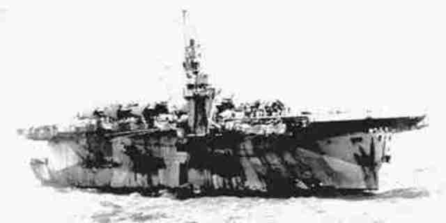 Escort carrier ship natoma bay