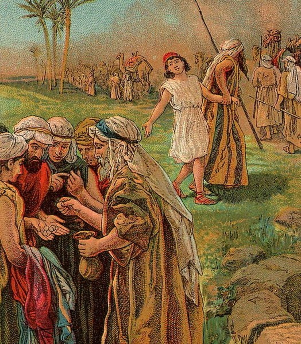 The Story Of Joseph In The Bible Free Lesson Plan For