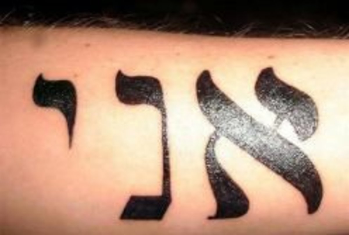 Tattoo Ideas Hebrew Words Phrases