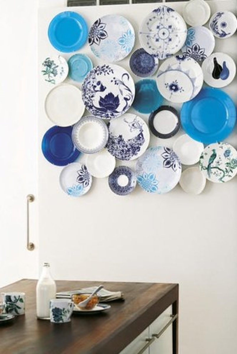 Decorating With Plates  Using Dinner Plates to Decorate Your Walls     Using dinner plates as wall d    cor