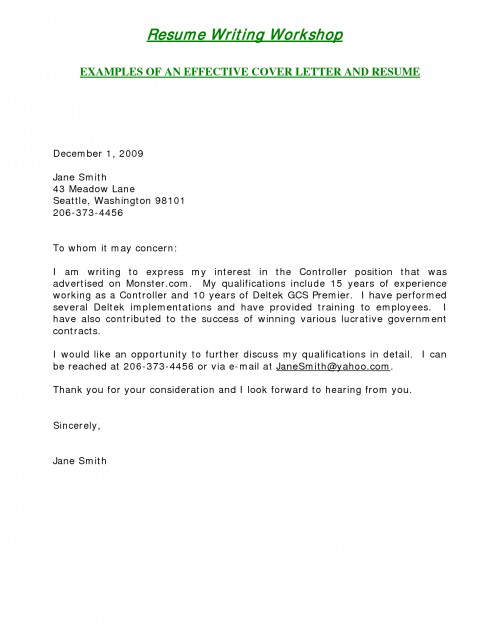 Cover Letter Exles For Teachers With Experience Best Livecareer