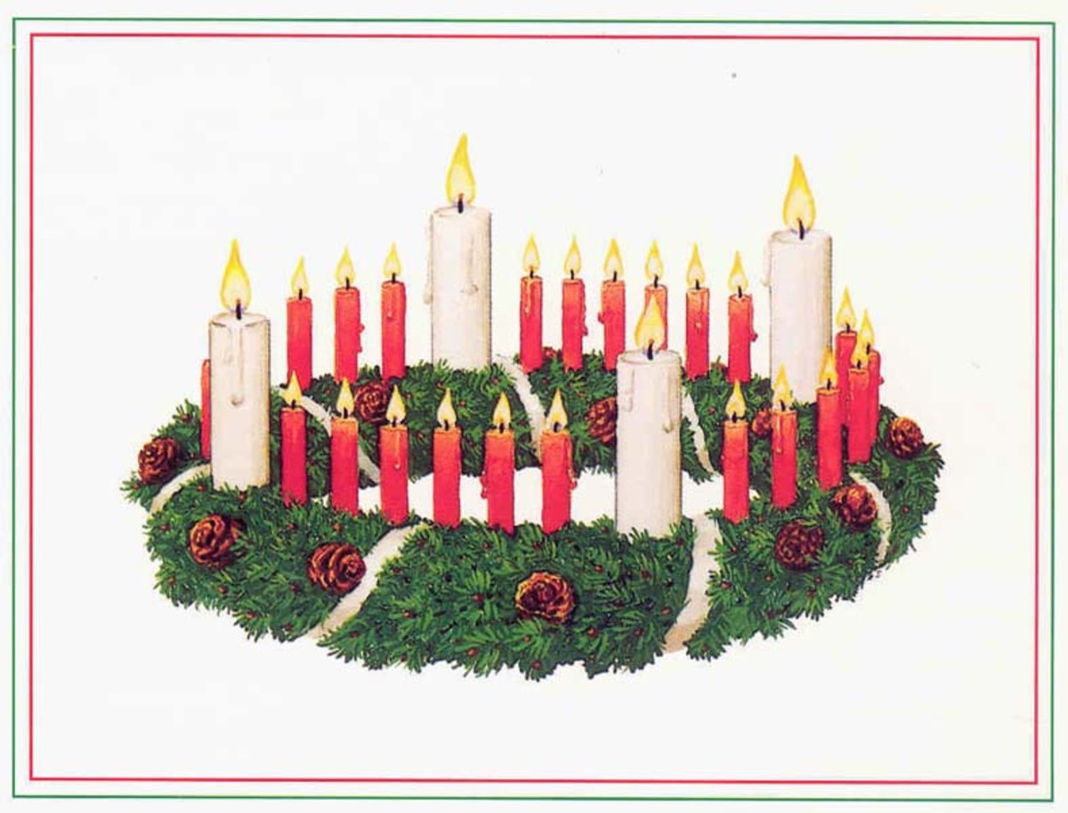 The Meaning Of Advent Celebrate With Calendar Candles