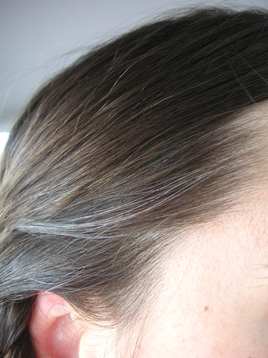 How To Naturally Hide Gray Hair Bellatory