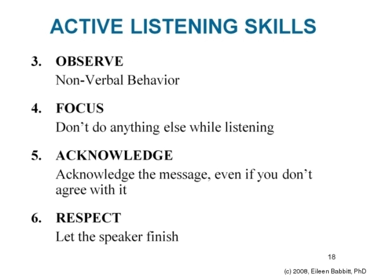 What Is Active Listening How And Why To Actively Listen