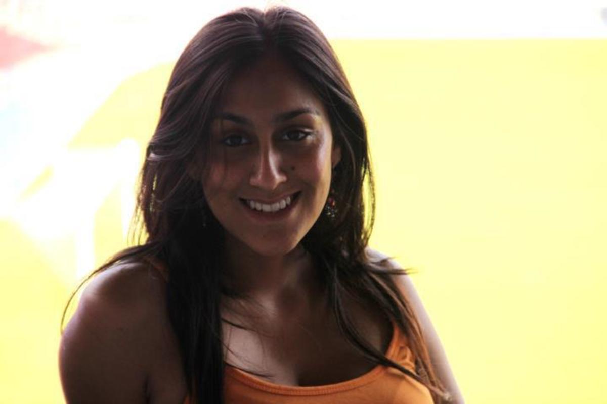 Karuna Ezara Parikh face close up