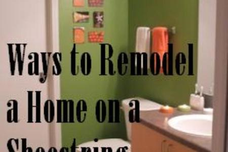 How to Remodel a Home on a Shoestring Budget   Dengarden Cheap ways to remodel your house