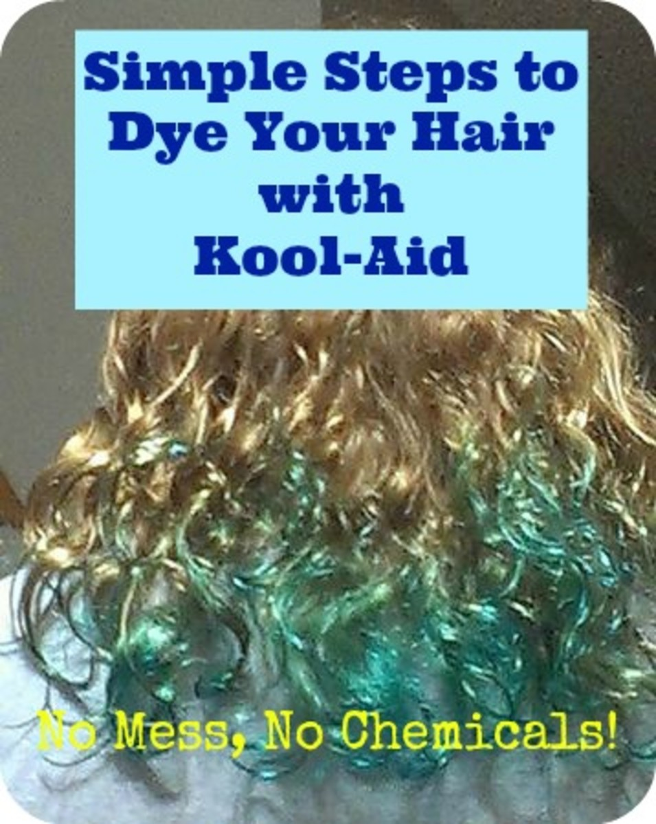 How To Dye Your Hair With Kool Aid No Peroxide No