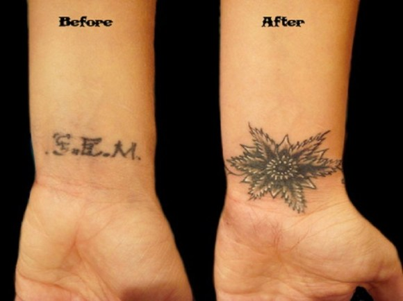 How to Cover Up Your Old Tattoo With a New Tattoo Design ...