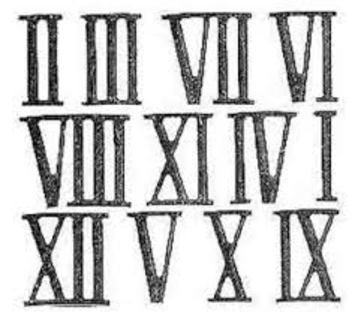 How To Teach Roman Numerals