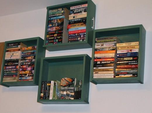 Cool Bookshelf Ideas DIY Bookshelves From Recycled