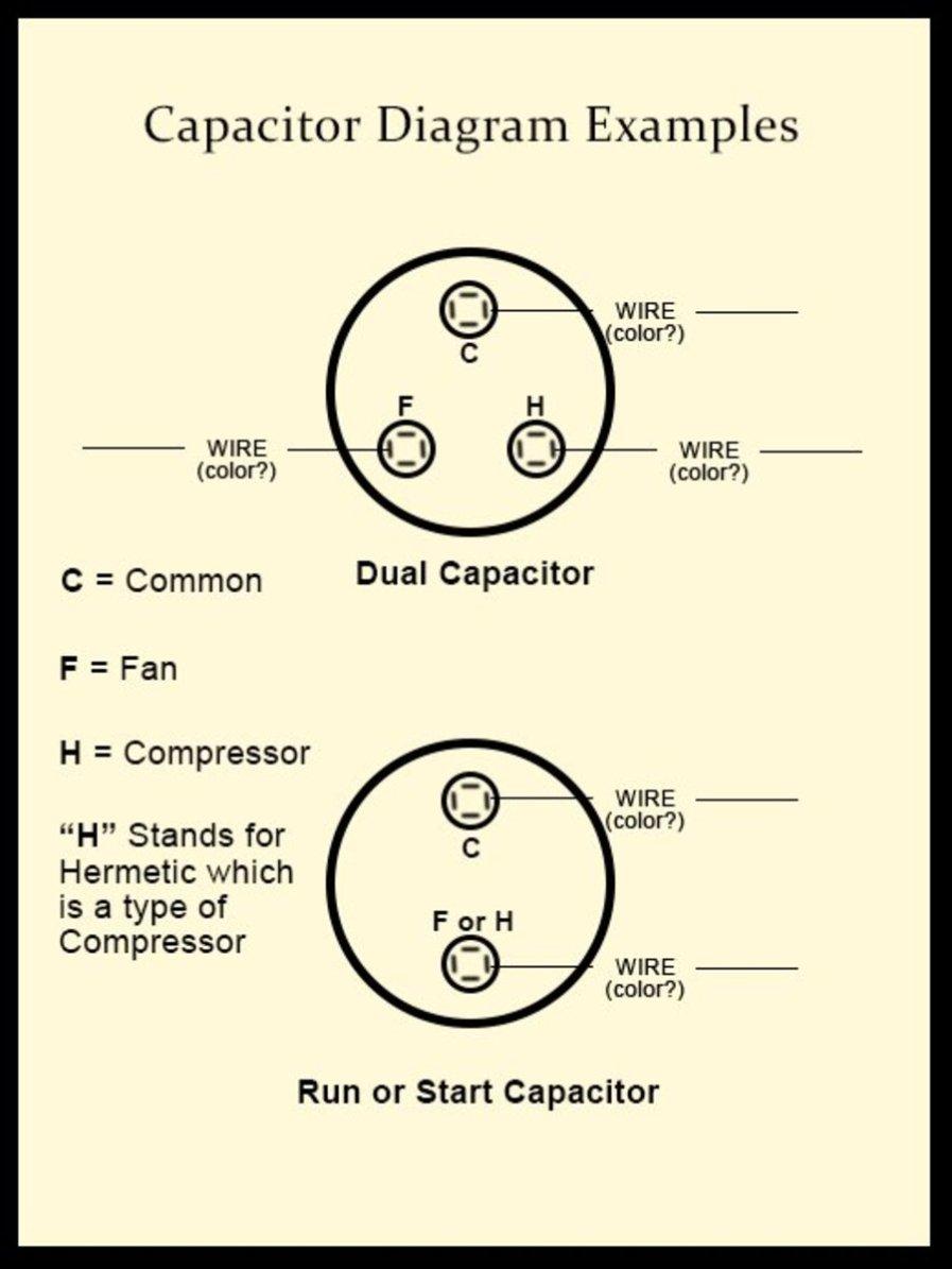 Startrun bo capacitors in 6hp Marathon 1ph motor  connection names?
