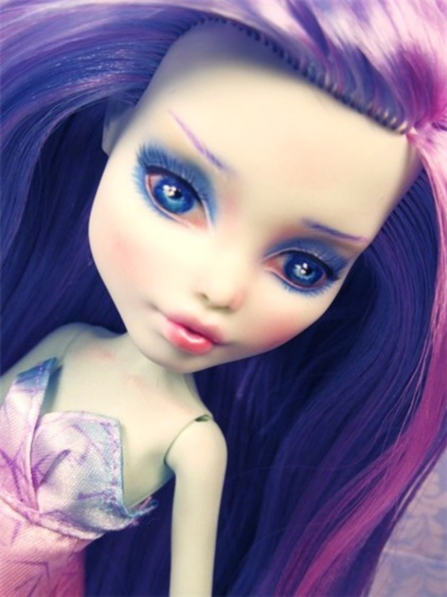 How To Repaint Monster High Dolls HubPages