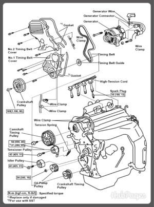 93 Toyota Celica Water Pump Diagram  Free Car Wiring